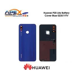 Huawei P20 Lite (ANE-L21) Battery Cover Klein Blue 02351VTV
