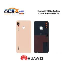 Huawei P20 Lite (ANE-L21) Battery Cover Sakura Pink 02351VTW
