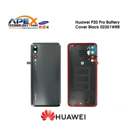 Huawei P20 Pro (CLT-L29) Battery Cover Black 02351WRR