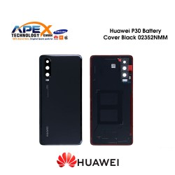 Huawei P30 (ELE-L29) Battery Cover Black 02352NMM