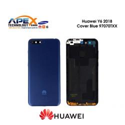 Huawei Y6 2018 (ATU-L21, ATU-L22) Battery Cover Blue 97070TXX