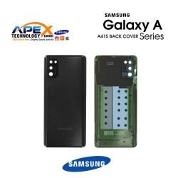 Samsung Galaxy A41 (SM-A415F) Battery Cover Black GH82-22585A