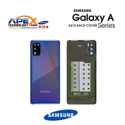 Samsung Galaxy A41 (SM-A415F) Battery Cover Prism Crush Blue GH82-22585D