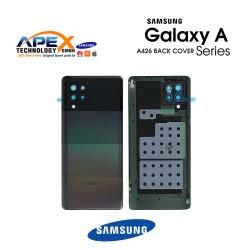 Samsung Galaxy A42 (SM-A426B) Battery Cover Black GH82-24378A