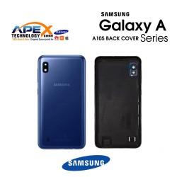 Samsung Galaxy A10 (SM-A105F) Battery Cover Blue GH82-20232B
