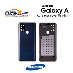Samsung Galaxy A21 (SM-A215) Battery Cover Black GH82-22780A