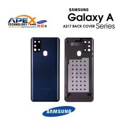 Samsung Galaxy A21s (SM-A217F) Battery cover Black GH82-22780A