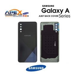 Samsung Galaxy A30s (SM-A307F) Cover Prism Crush Black GH82-20805A