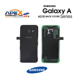 Samsung Galaxy A3 2016 (SM-A310F) Battery Cover Black GH82-11093B