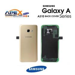 Samsung Galaxy A3 2016 (SM-A310F) Battery Cover Gold GH82-11093A