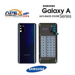 Samsung Galaxy A31 (SM-A315F) Battery Cover Prism Crush Black GH82-22338A