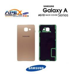 Samsung Galaxy A5 2016 (SM-A510F) Battery Cover Gold GH82-11020A