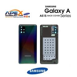 Samsung Galaxy A51 (SM-A515F) Battery Cover Prism Crush Black GH82-21653B