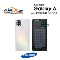Samsung Galaxy A51 (SM-A515F) Battery Cover Prism Crush White GH82-21653A