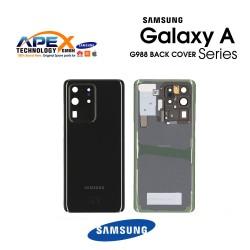 Samsung Galaxy S20 Ultra (SM-G988F) Battery Cover Cosmic Black GH82-22217A