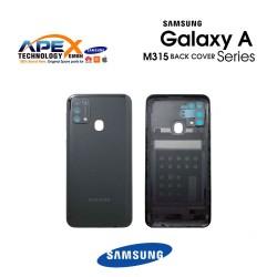 Samsung Galaxy M31 (SM-M315F) Battery Cover Space Black GH82-22412C
