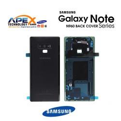 Samsung Galaxy Note 9 (SM-N960) Battery Cover Black GH82-16917A