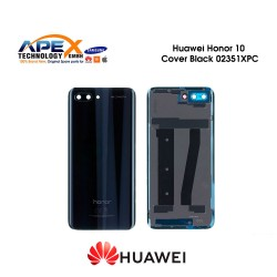 Huawei Honor 10 (COL-L29) Battery Cover Midnight Black 02351XPC