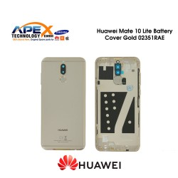 Huawei Mate 10 Lite (RNE-L01, RNE-L21) Battery Cover Incl. Fingerprint Sensor Gold 02351RAE