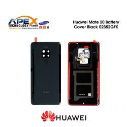 Huawei Mate 20 (HMA-L09, HMA-L29) Battery Cover Black 02352GFK