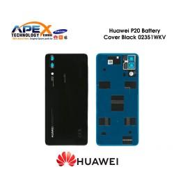 Huawei P20 (EML-L09, EML-L29) Battery Cover Black 02351WKV