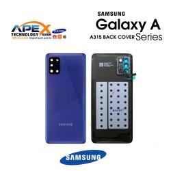 Samsung Galaxy A31 (SM-A315F) Battery Cover Prism Crush Blue GH82-22338D