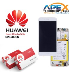 Huawei Honor 8 (FRD-L09, FRD-L19) Lcd Display / Screen + Touch + Battery White 02350UEN
