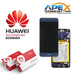 Huawei Honor 8 (FRD-L09, FRD-L19) Lcd Display / Screen + Touch + Battery Blue 02350USN