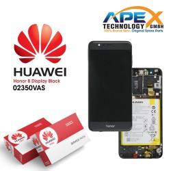 Huawei Honor 8 Lcd Display / Screen + Touch + Battery - Black 02350VAS