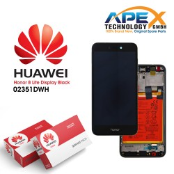 Huawei Honor 8 Lite Lcd Display / Screen + Touch + Battery Black 02351DWH
