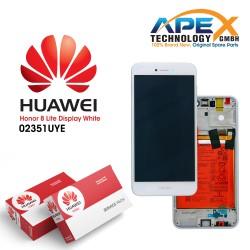 Huawei Honor 8 Lite Lcd Display / Screen + Touch + Battery White 02351UYE