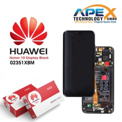 Huawei Honor 10 LCD Display / Screen + Touch + Battery Assembly - Black
