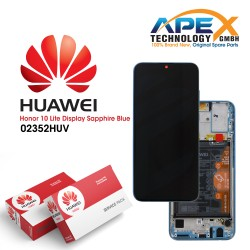 Huawei Honor 10 Lite Lcd Display / Screen + Touch + Battery - Sapphire Blue - 02352HUV