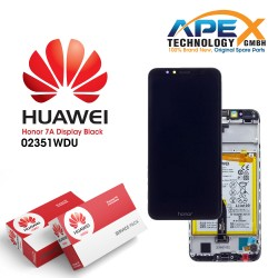 Huawei Honor 7A Lcd Display / Screen + Touch + Battery - Black - 02351WDU