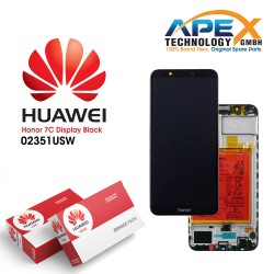Huawei Honor 7C Lcd Display / Screen + Touch + Battery - Black - 02351USW