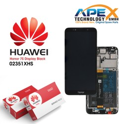 Huawei Honor 7S Lcd Display / Screen + Touch + Battery - Black - 02351XHS