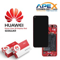 Huawei Honor View 20 (PCT-L29B) Display Module + Battery (Red)