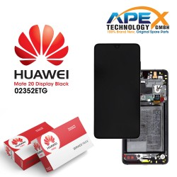 Huawei Mate 20 LCD Display / Screen + Touch + Battery Assembly - Black