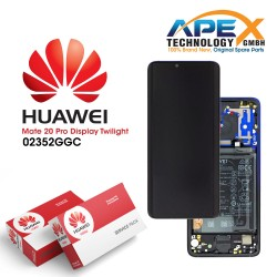 Huawei Mate 20 Pro LCD Display / Screen + Touch + Battery Assembly - Twilight
