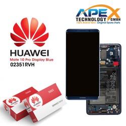 Huawei Mate 10 Pro (BLA-L09, BLA-L29) Lcd Display / Screen + Touch + Battery Midnight Blue 02351RVH