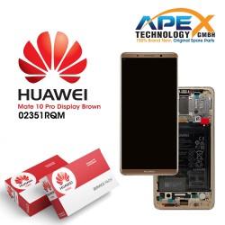 Huawei Mate 10 Pro (BLA-L09, BLA-L29) Lcd Display / Screen + Touch + Battery Mocha Brown 02351RQM