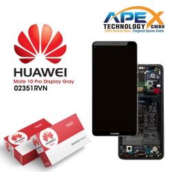 Huawei Mate 10 Pro (BLA-L09, BLA-L29) Lcd Display / Screen + Touch + Battery Titanium Grey 02351RVN