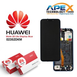 Huawei Mate 20 Lite LCD Display / Screen + Touch + Battery Assembly - Blue