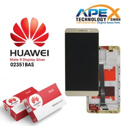 Huawei Mate 9 Lcd Display / Screen + Touch + Battery White 02351BAS