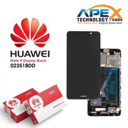 Huawei Mate 9 Lcd Display / Screen + Touch + Battery Black 02351BDD