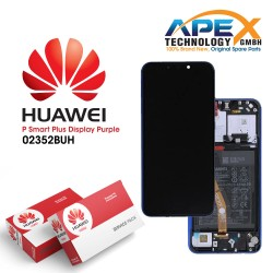 Huawei P Smart+ / P Smart Plus LCD Display / Screen + Touch + Battery Assembly - Purple