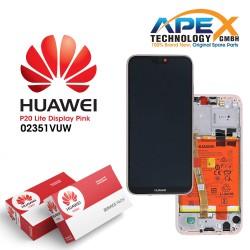 Huawei P20 Lite (ANE-L21) Lcd Display / Screen + Touch + Battery sakura Pink 02351VUW