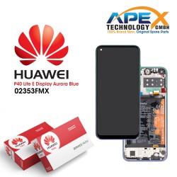 Huawei P40 Lite E (ART-L28 ART-L29) Lcd Display / Screen + Touch + Battery Aurora Blue 02353FMX