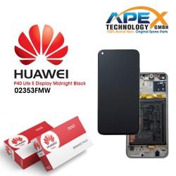 Huawei P40 Lite E (ART-L28 ART-L29) Lcd Display / Screen + Touch + Battery Midnight Black 02353FMW
