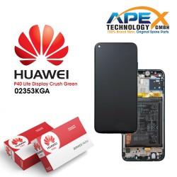 Huawei P40 Lite (JNY-L21A JNY-LX1) Lcd Display / Screen + Touch + Battery Crush Green 02353KGA